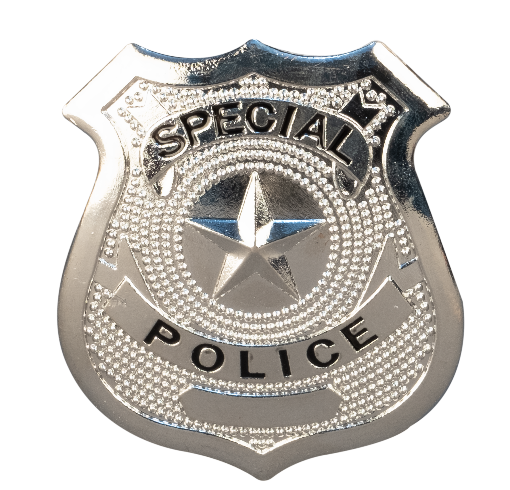 """Polizeimarke """"Special Police"""""""
