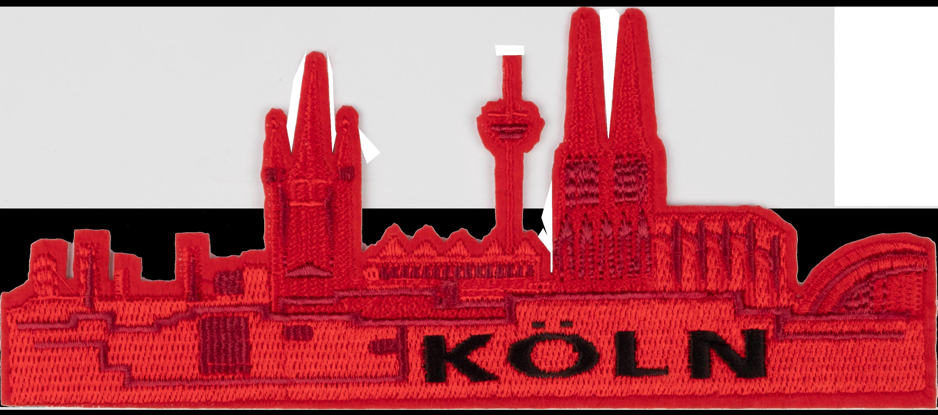 Bügelbild Kölner Skyline (groß)