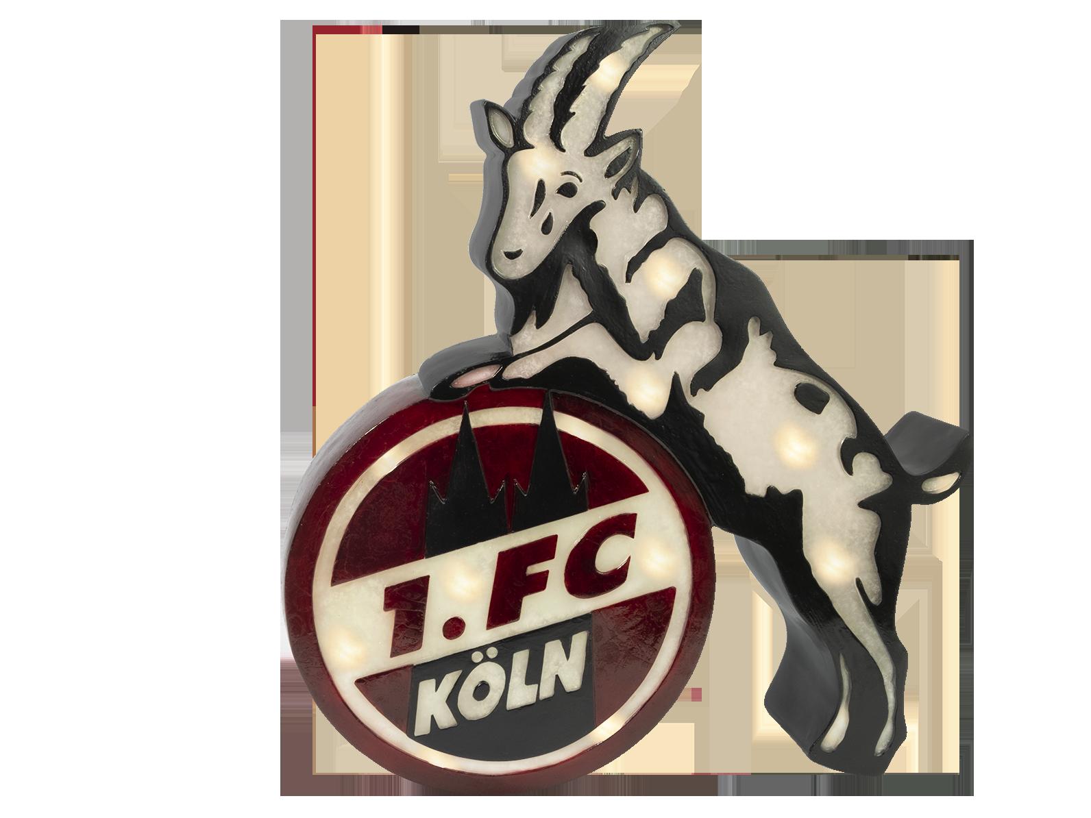 1. FC Köln Lampe Aufsteller
