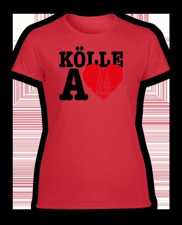 Damen T-Shirt Kölle A LOVE