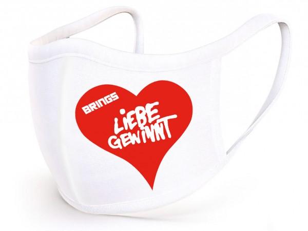 BRINGS Stoffmaske Liebe gewinnt