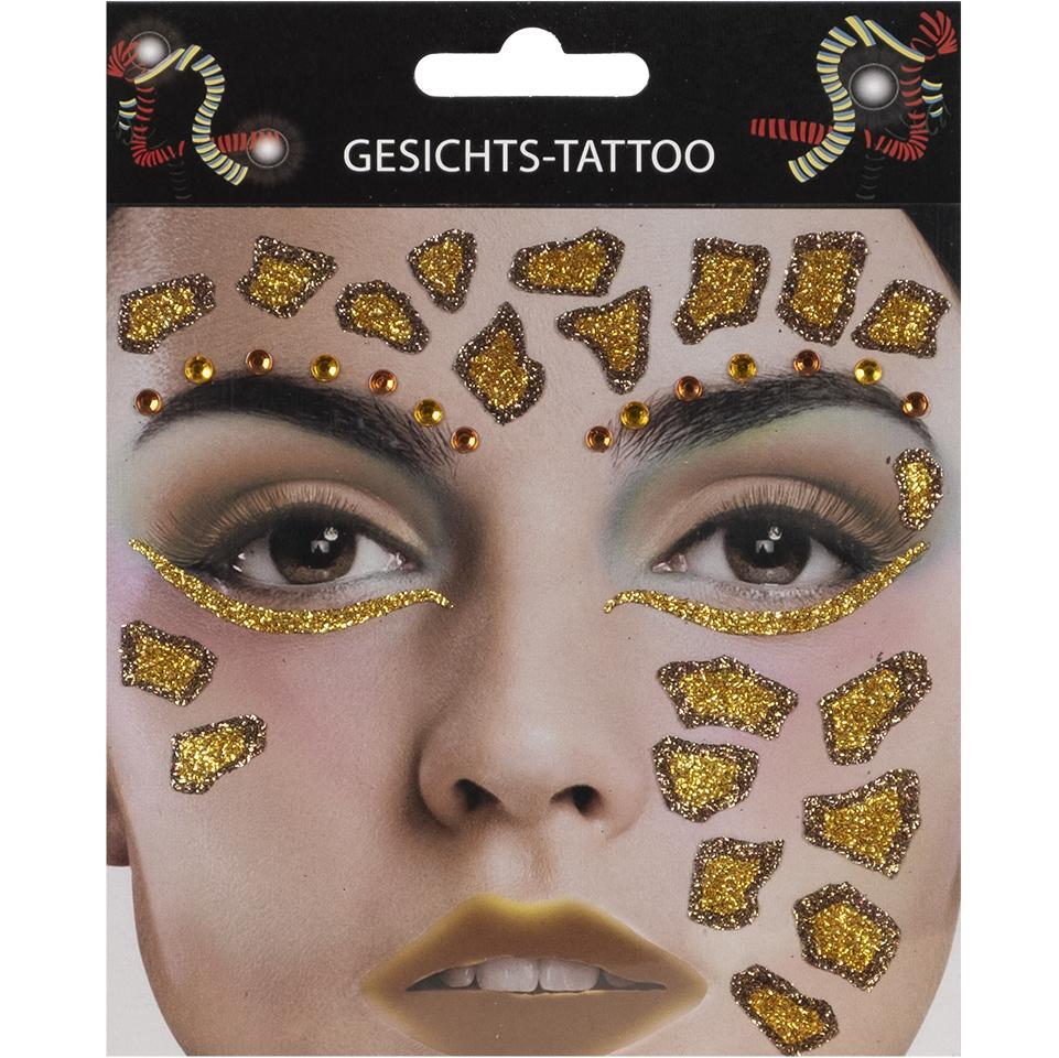 Gesichts-Tattoo Giraffe