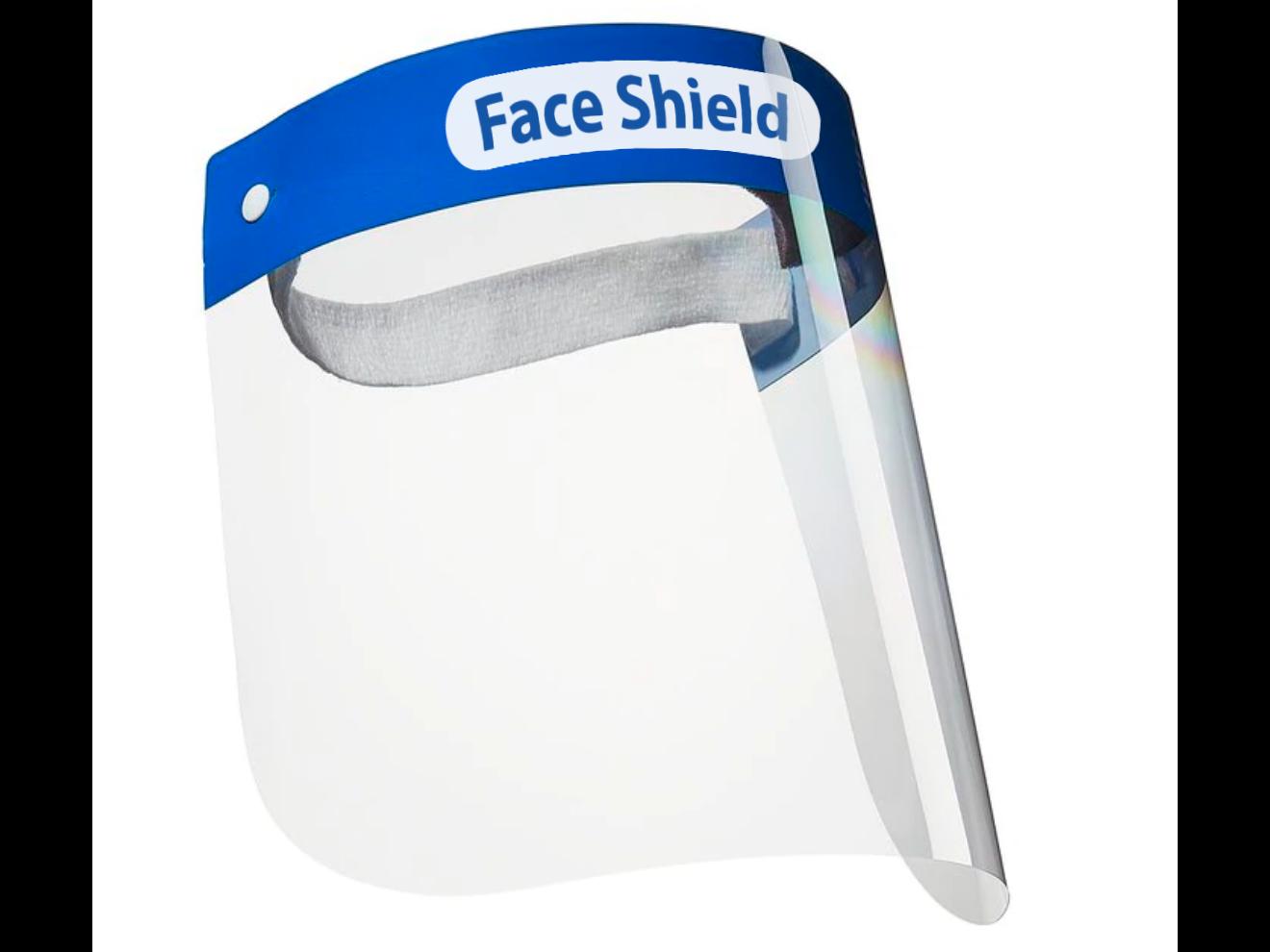 Gesichtsschutzschirm / Spuckschutz Visier