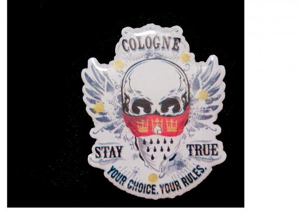 Blinky Stay True Totenkopf Cologne