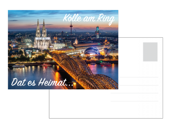 Postkarte - Dat es Heimat