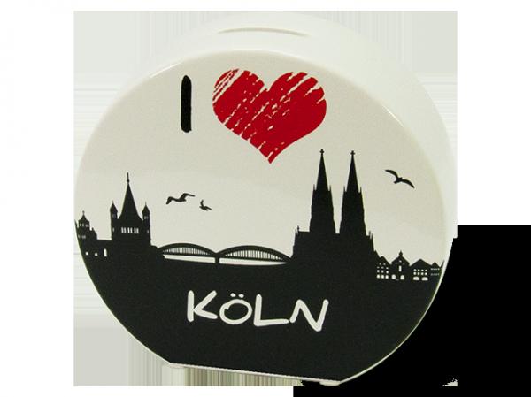 Spardose I Love Köln