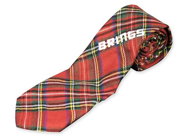BRINGS  Krawatte karo