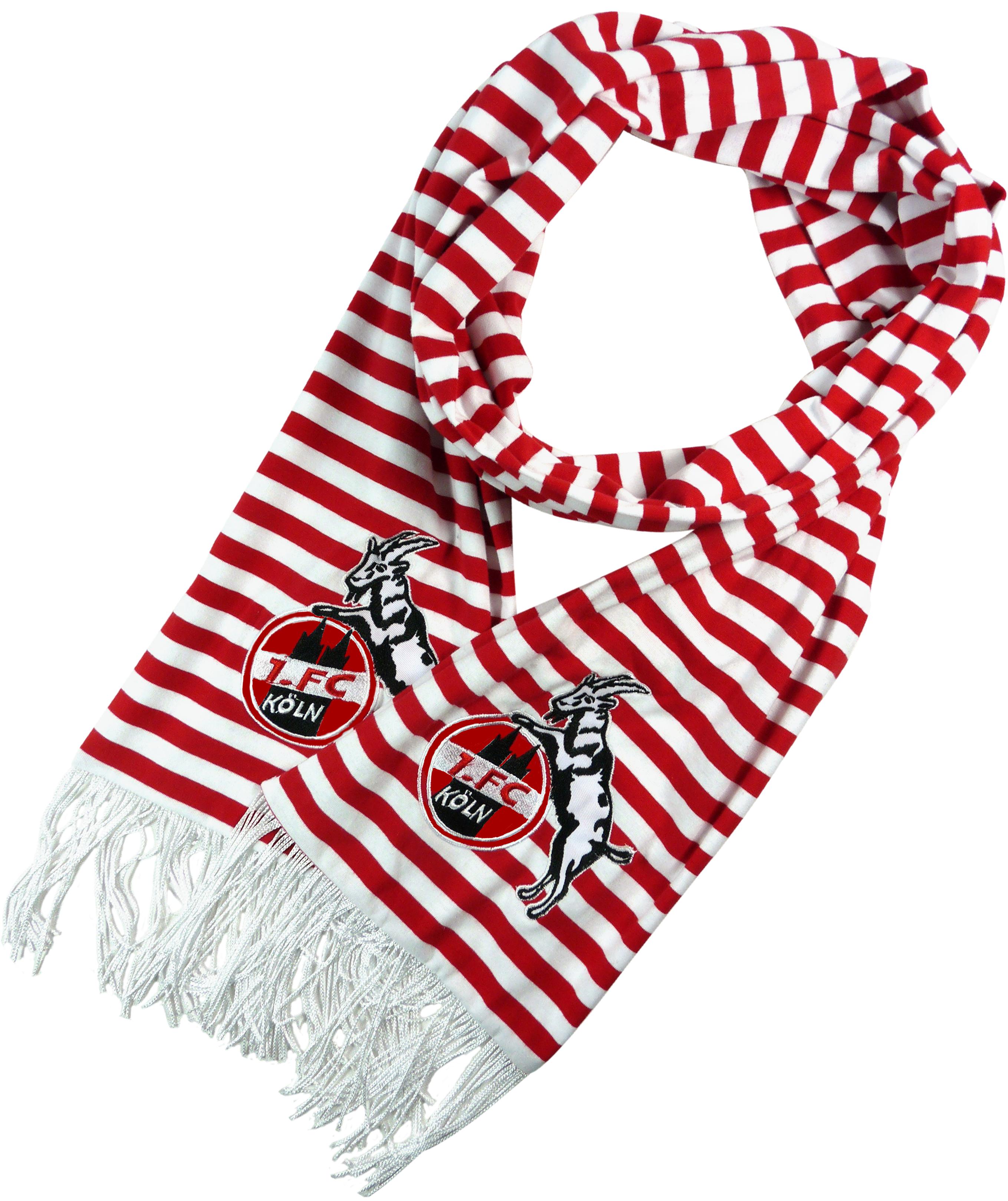 1. FC Köln Schal Ringel