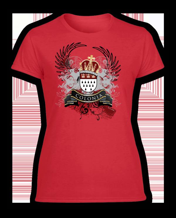 Damen T-Shirt Colonia