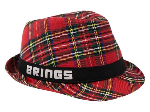 BRINGS Hut karo 54cm - für Kinder