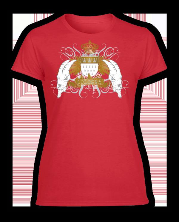 Damen T-Shirt Geißböcke