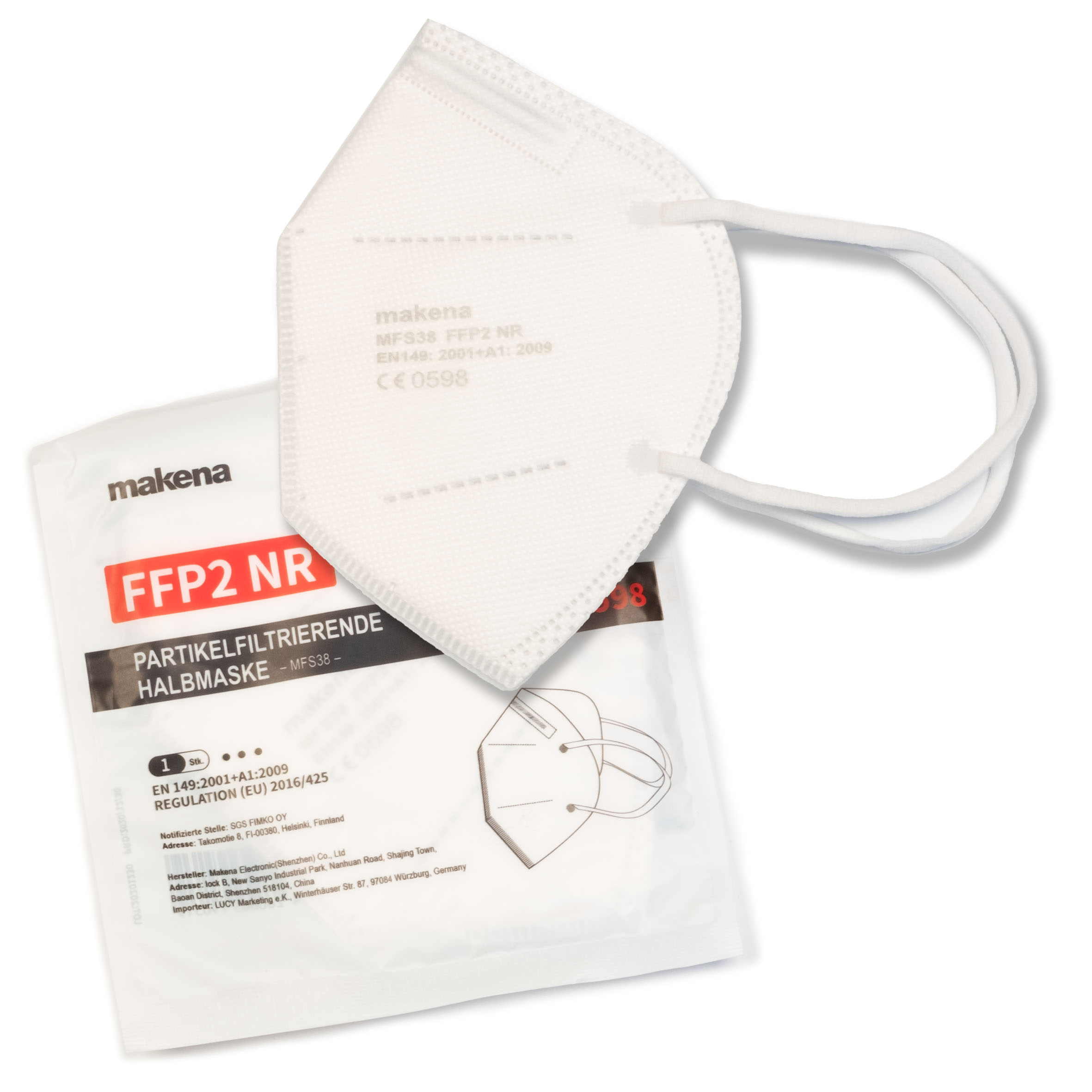 FFP2 Maske 10er Paket
