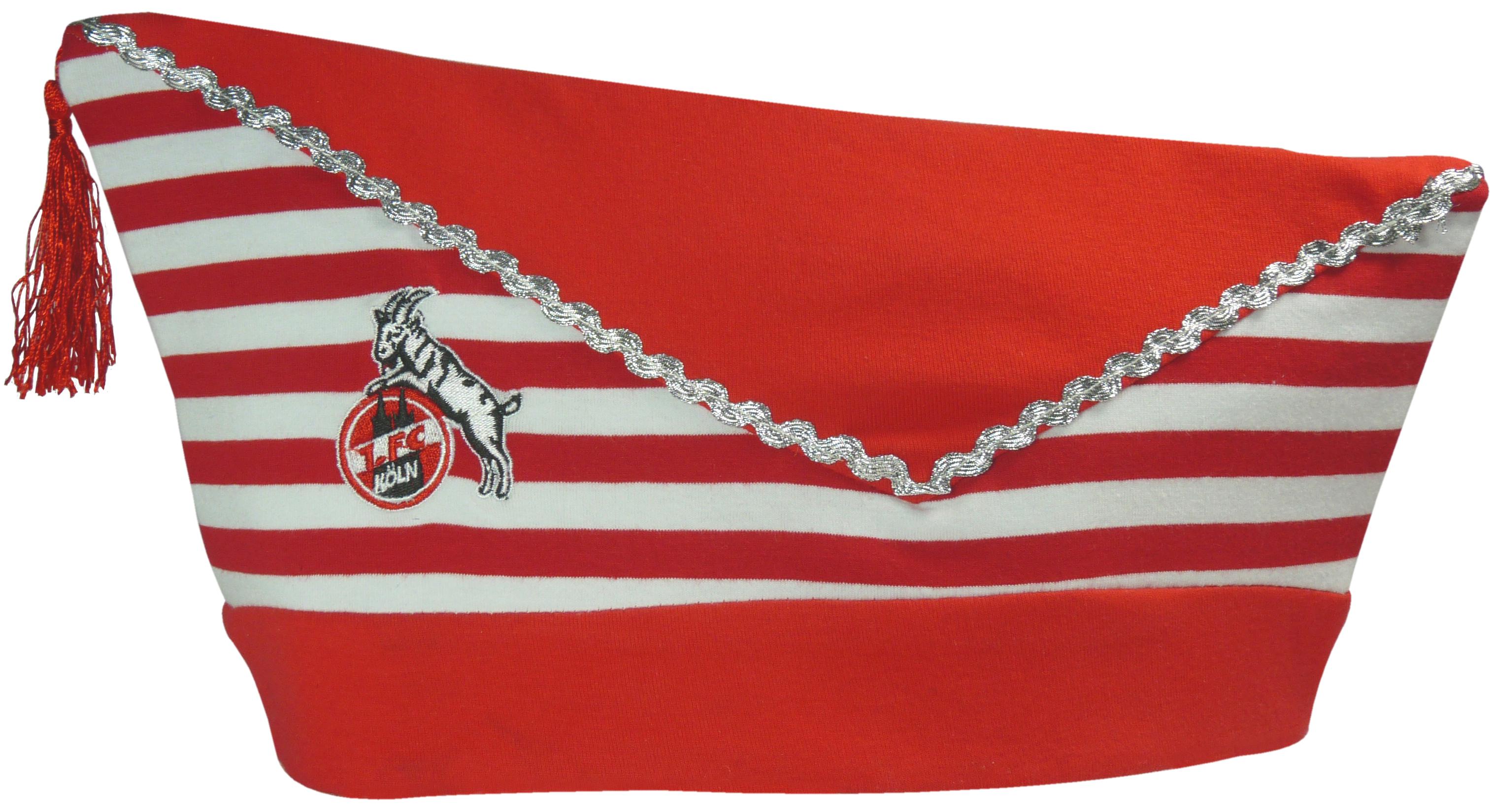 1. FC Köln Karnevalsmütze Schiffchen