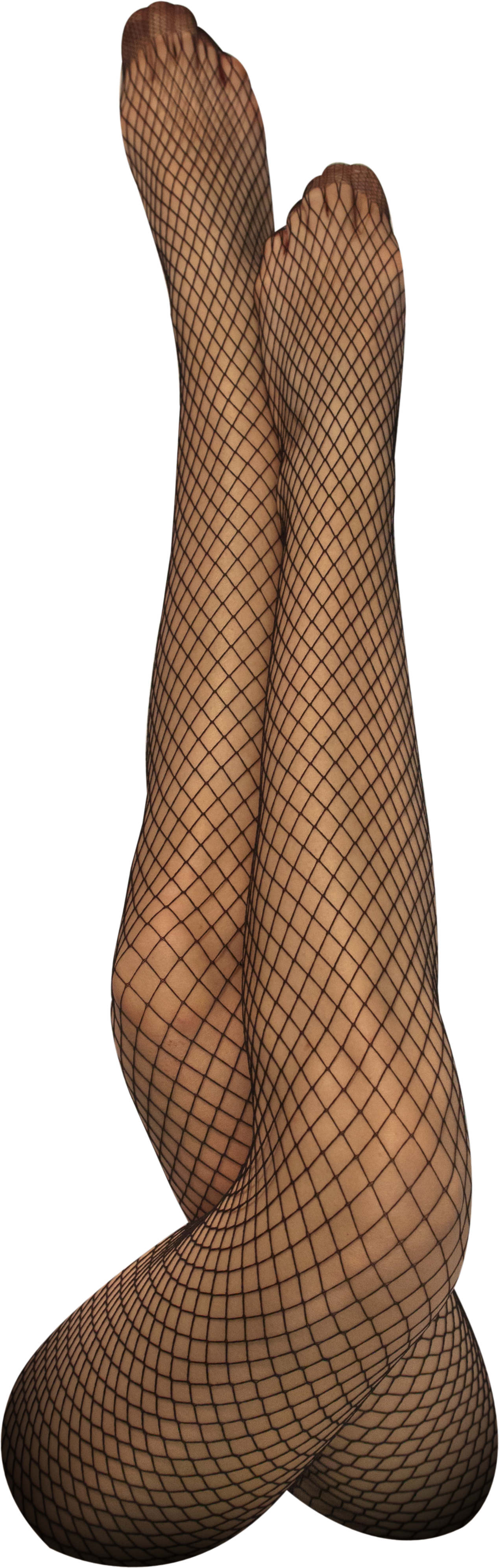 Netzstrumpfhose schwarz