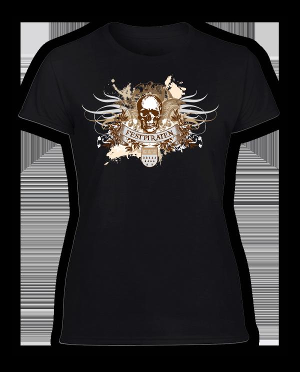 Damen T-Shirt Festpiraten