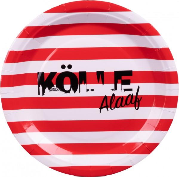 10er Party-Teller Kölle Alaaf Skyline