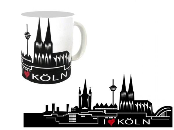 Tasse - Kölner Skyline