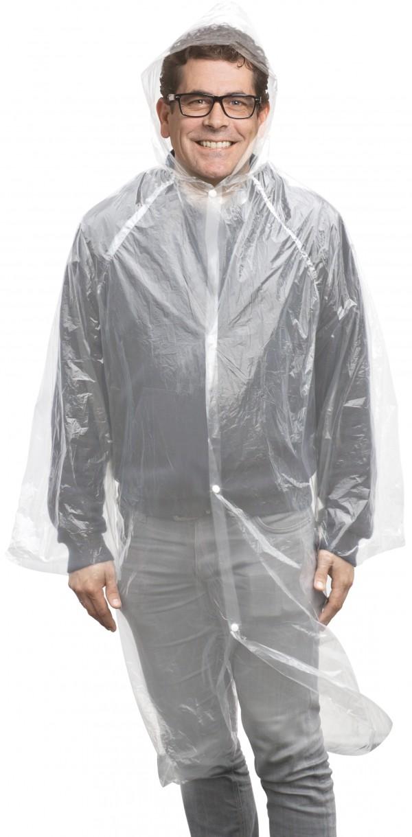 Regenmantel mit Kapuze Unisex