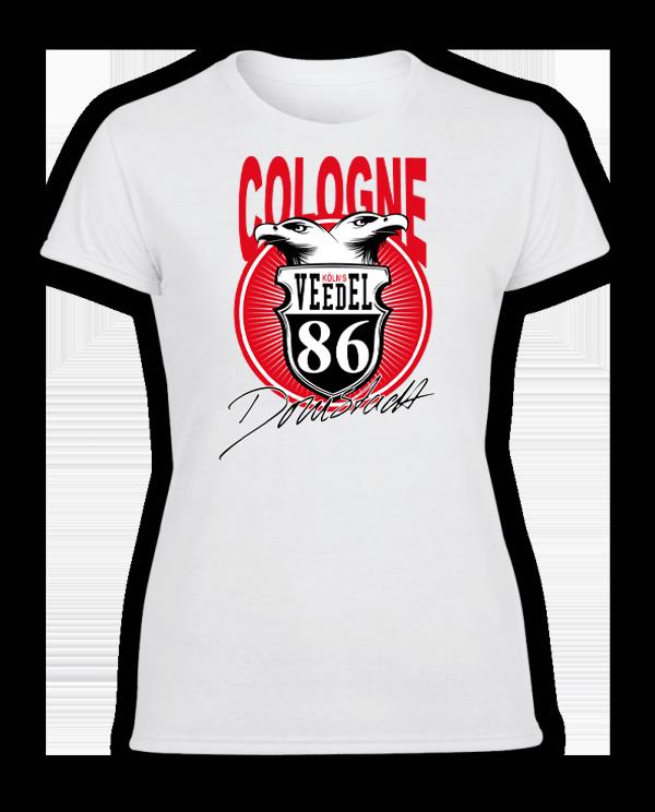 Damen T-Shirt 86 Veedel