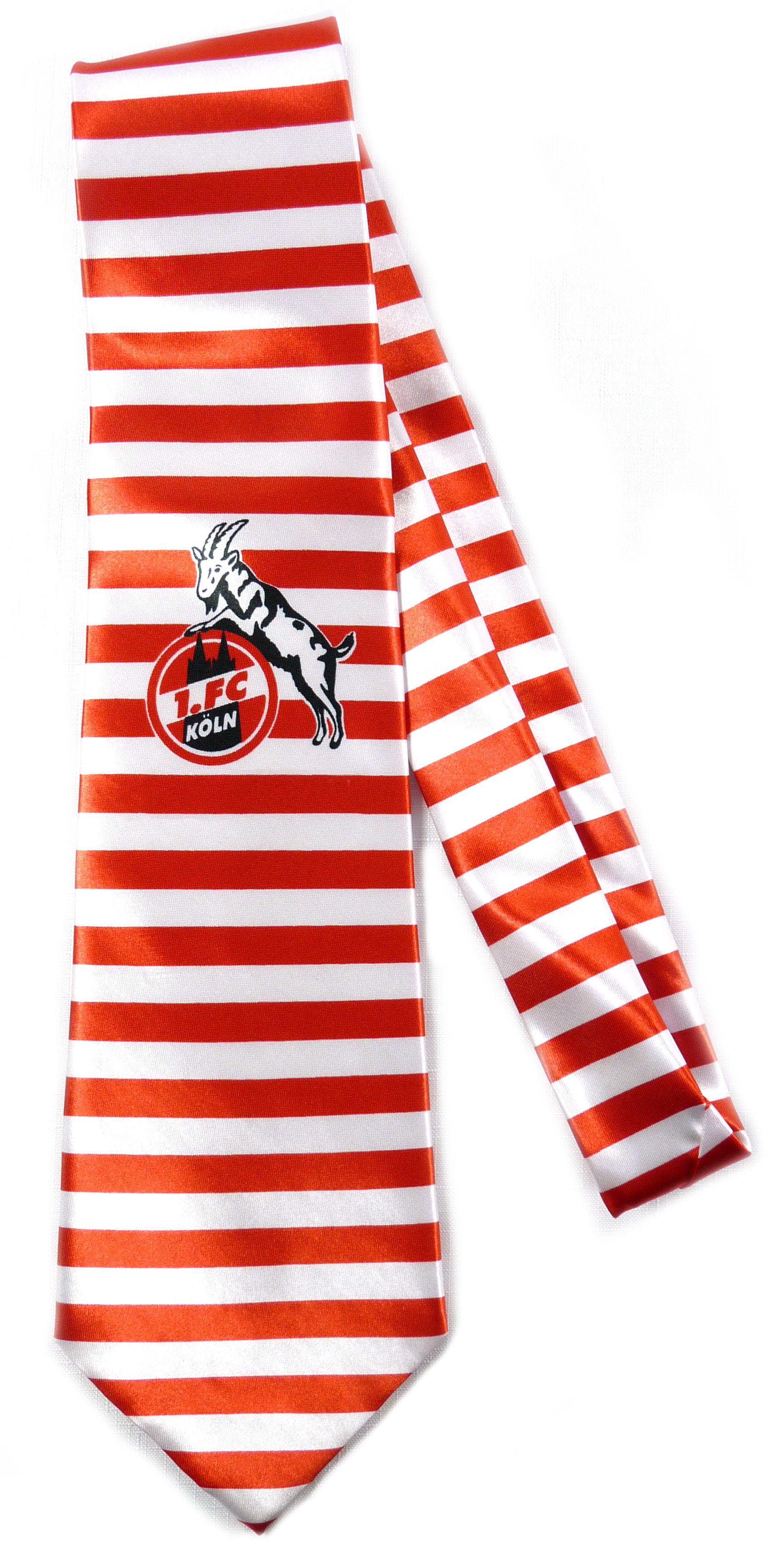 1. FC Köln Krawatte Ringel