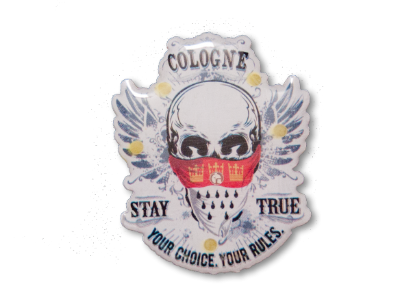 Blinky Stay True Totenkopf Cologne